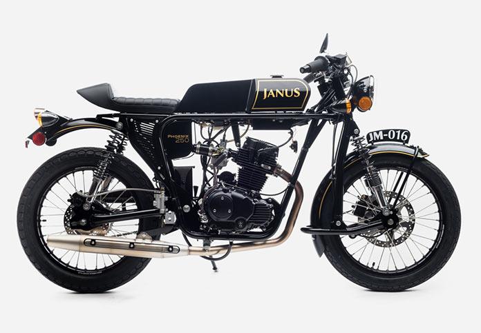 JANUS MOTORCYCLES - мотоциклы ручной работы в винтажном стиле