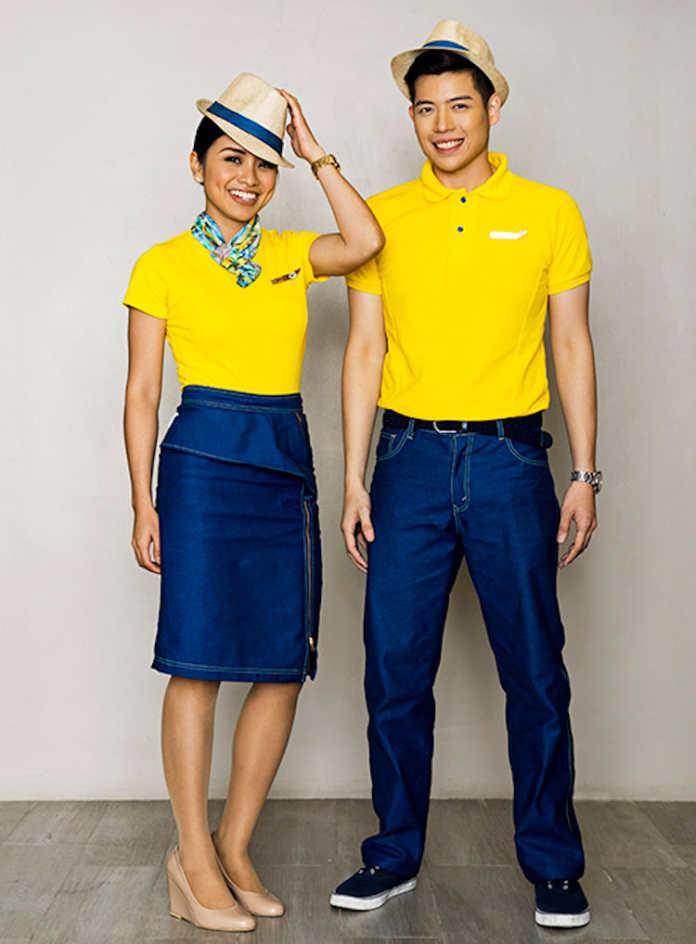 Форма бортпроводников авиакомпании Cebu Pacific
