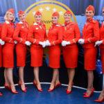 Стюардесса Аэрофлот. Форма бортпроводников авиакомпании Аэрофлот