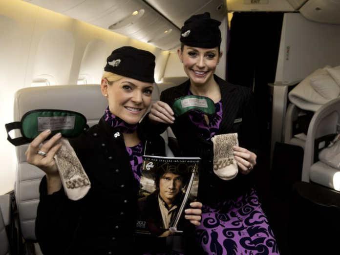 Форма бортпроводников авиакомпании Air New Zealand