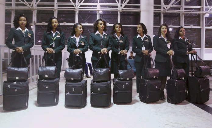 Форма бортпроводников авиакомпании Ethiopian Airlines