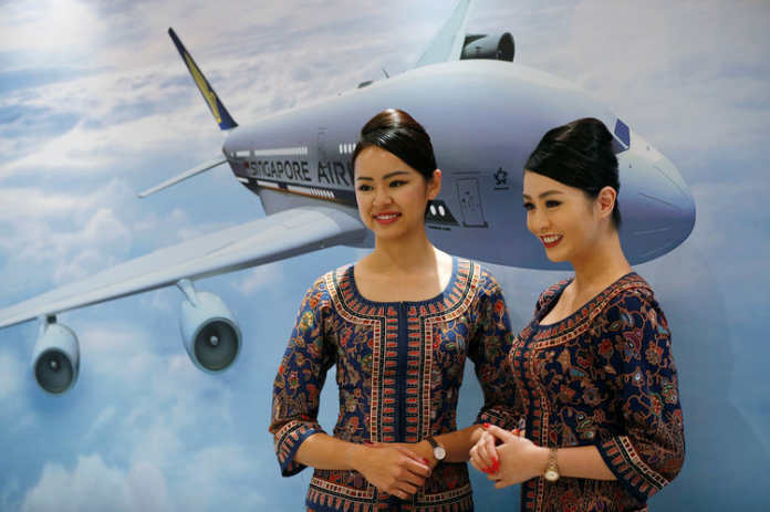 Форма бортпроводников авиакомпании Singapore Airlines