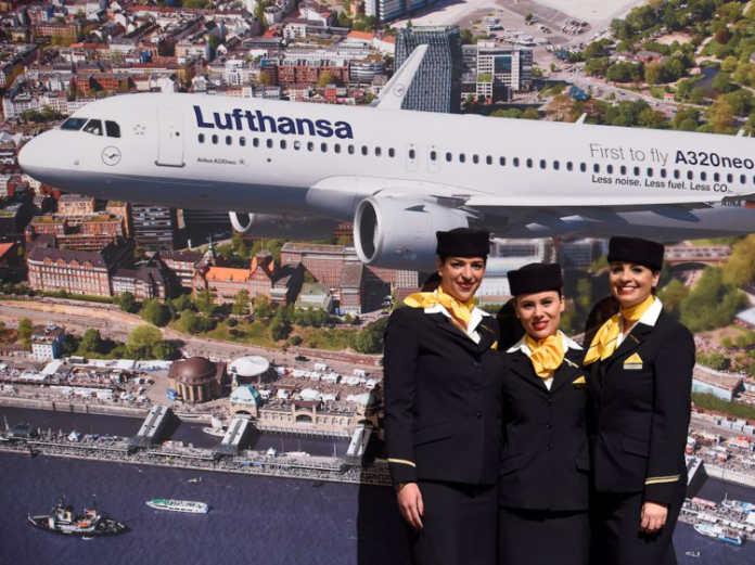 Форма бортпроводников Lufthansa