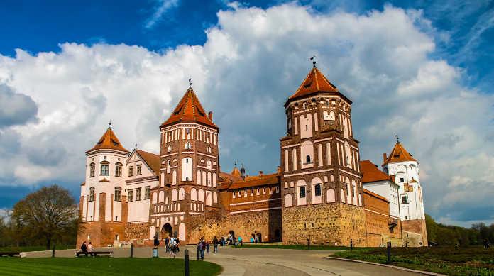 Беларусь, замок, достопримечательности Белоруссии