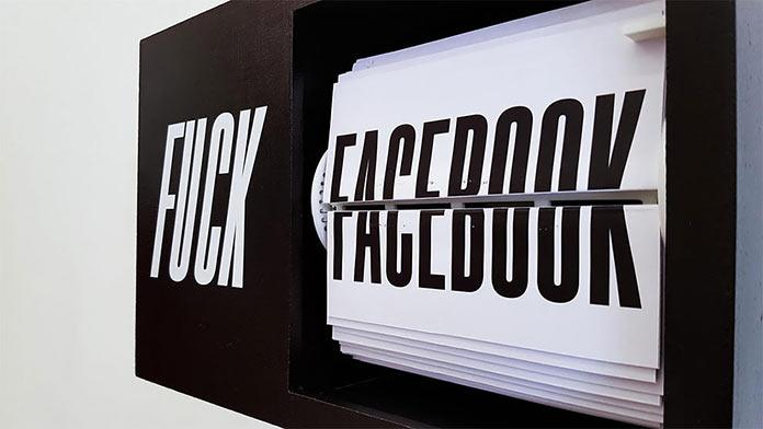 Табло хейтера. Hater Box - Fuck Facebook