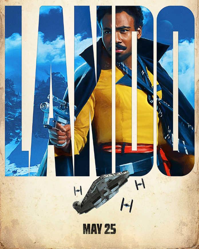 Лэндо. Постер к фильму Хан Соло: Звездные войны. Истории