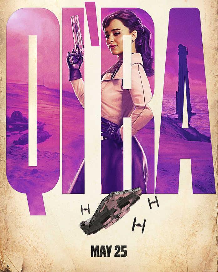Кира. Постер к фильму Хан Соло: Звездные войны. Истории