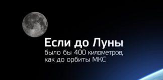 Если бы расстояние до Луны было 400 километров