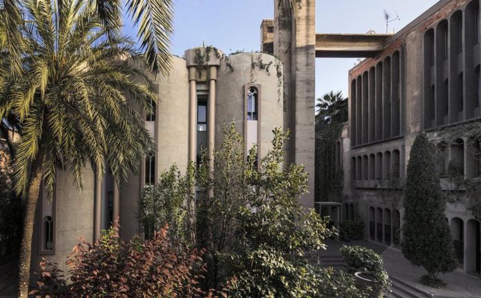 Переделка дома из старого цементного завода