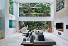 Двухуровневая квартира в Сан-Паулу, Бразилия