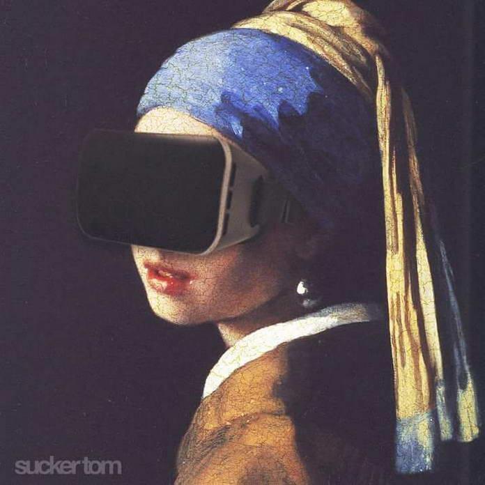 Виртуальная реальность. Иллюстрации Sucker Tom
