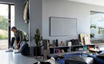 Телевизоры Samsung QLED 4K TVs 2018 маскируются под интерьер