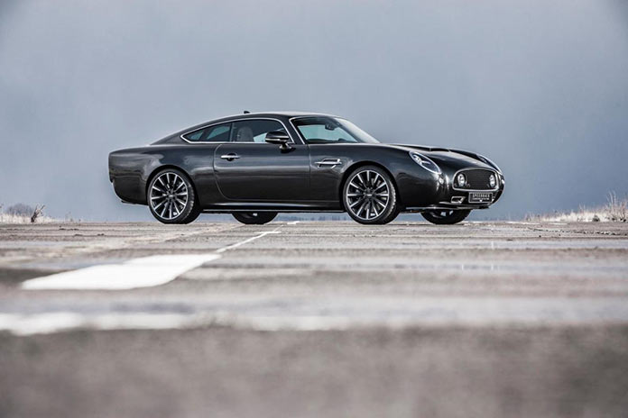 На треке новый 600-сильный David Brown Speedback Silverstone Edition