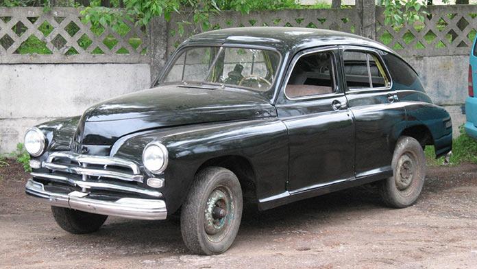 ГАЗ М-20Г автомобиль Победа советских спецслужб