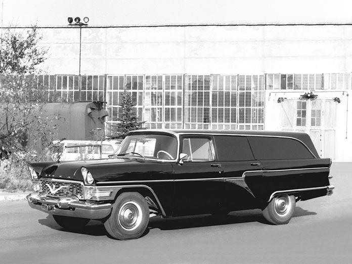 ГАЗ-13С «Черная врачиха» медицинский автомобиль правительства СССР
