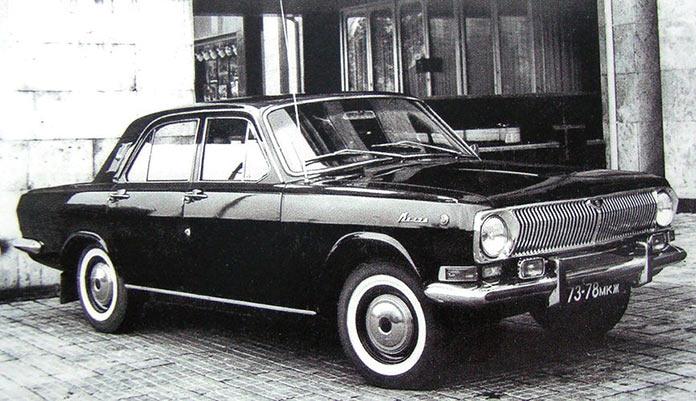 Волга ГАЗ-24-25 «догонялка» специальная версия для КГБ СССР