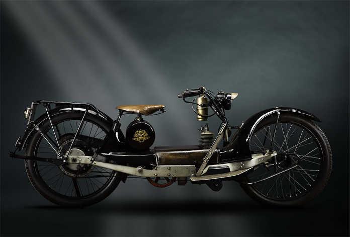 Ретро мотоцикл Neracarwheeler