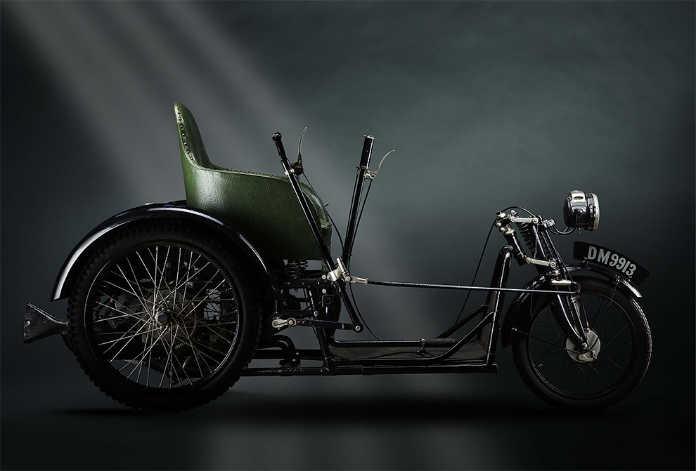 Инвалидная коляска Harding Invalid Carriage 1920 года