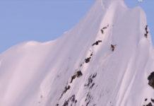 Катание на горных лыжах видео