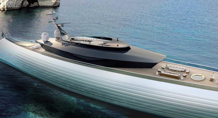Tuhura 115-метровая суперяхта Oceanco
