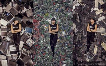 Вон Вонг превращает электронный отходы в постапокалиптический бэкграунд для своих работ