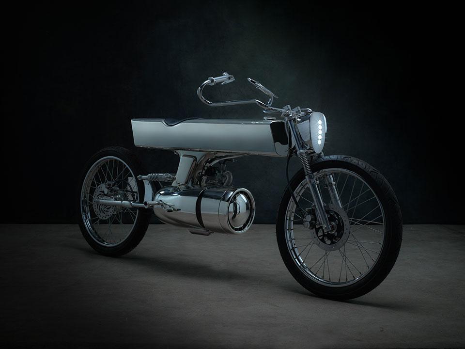 Концепт футуристичного мотоцикла L-Concept от Bandit9 Motorcycles