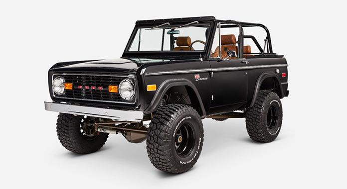 Обновленный Ford Bronco 1971 года