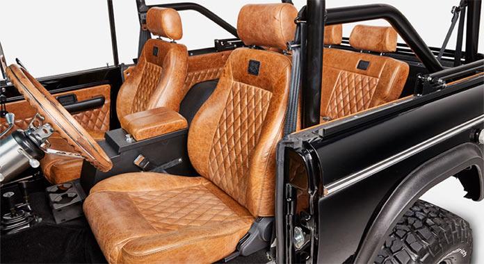Обновленный Ford Bronco 1971 года, интерьер внедорожника