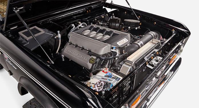 Обновленный Ford Bronco 1971 года, двигатель