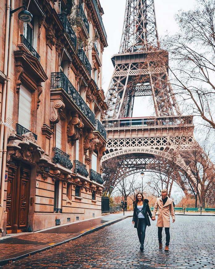 Эйфелева башня, Париж, путешествия фото