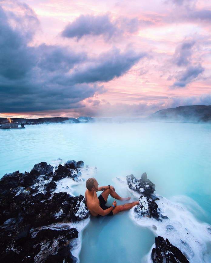 Голубая лагуна, Исландия, путешествия фото