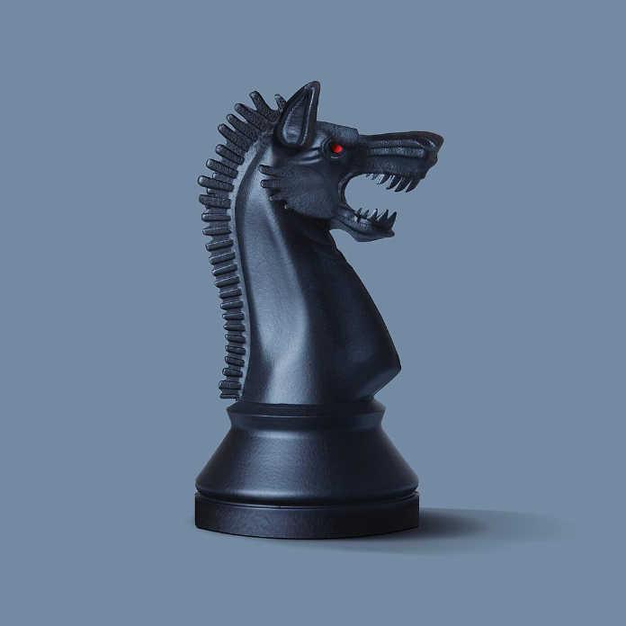 Шахматный дракон. Иллюстрация Хосе Наварро