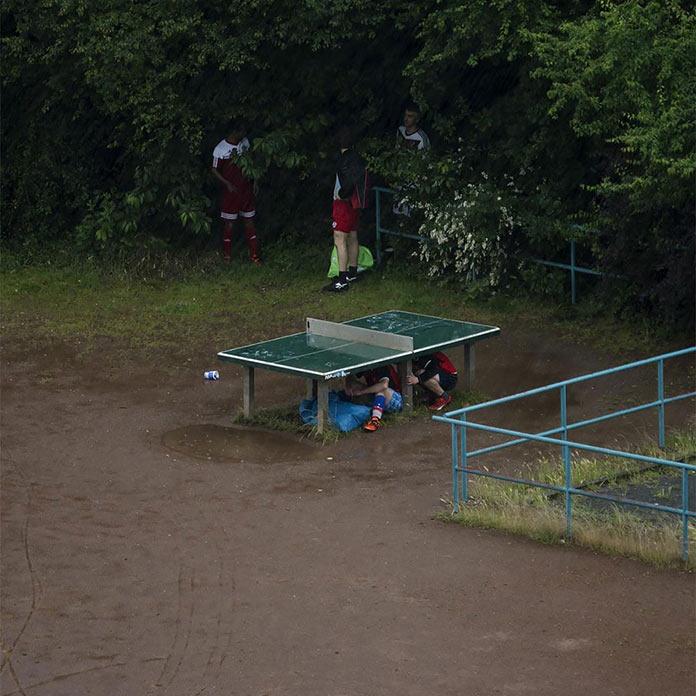 Жизнь теннисного стола, фотографии Хаяхиса Томиясу