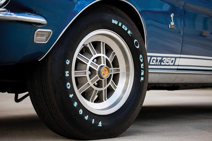 Колесный диск Shelby GT350 Convertible кабриолет 1968 года