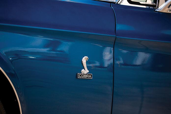 Логотип Shelby GT350 Convertible кабриолет 1968 года
