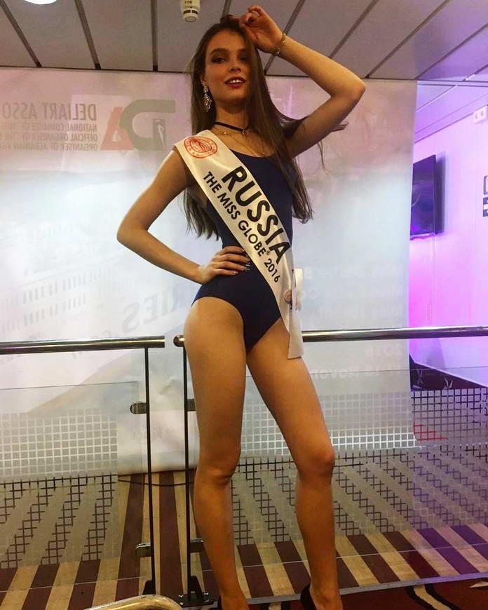 Юлия Полячихина в бикини, Мисс Россия 2018