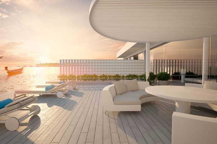 The Muraka - новая вилла с подводной спальней в отеле Conrad Maldives Rangali Island