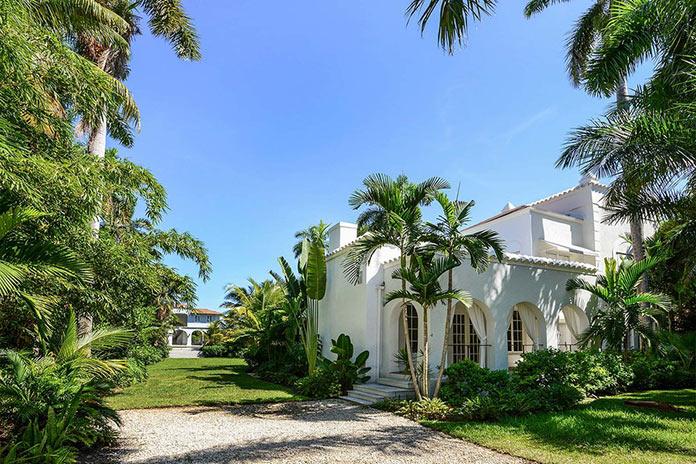 Основная вилла. Резиденция гангстера Аль Капоне в Майами
