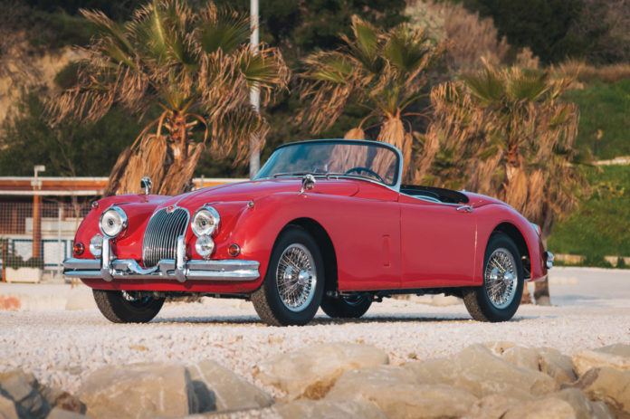 Jaguar XK 150 3.8 Roadster 1960 года