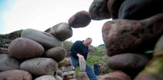 Чемпионат Европы по укладке и балансировке камней в Данбаре, Шотландия