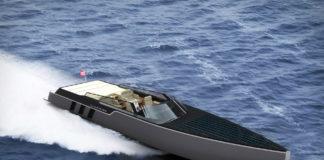 Tesla E-Vision GT Concept Boat by Belkharmoudi Aziz