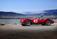 Винтажный красный Maserati A6GCS/53 Spyder 1953 года