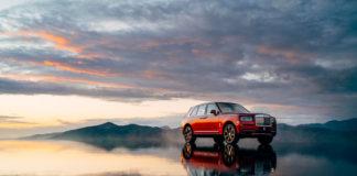 Rolls-Royce Cullinan SUV Magma Red