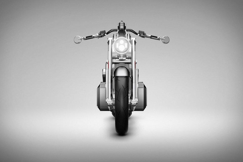 Электрический мотоцикл Curtiss Zeus, концепт