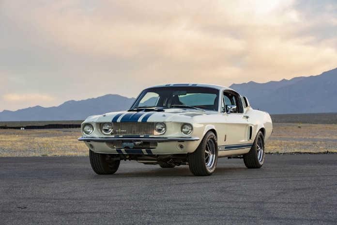 Shelby произведет ограниченную партию модели GT500 Super Snake 1967 года