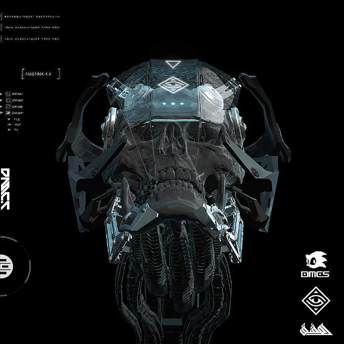 3D Биомеханические персонажи, иллюстрации Ахмета Атил Акара