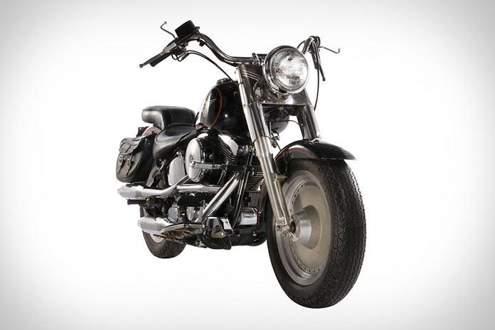 Harley Davidson Шварценеггера из Терминатора 2