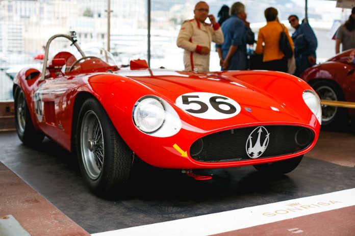 Maserati 6CM. Исторический Гран-при в Монако 2018