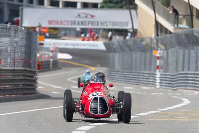 Maserati A6GC на гоночном треке в Монако