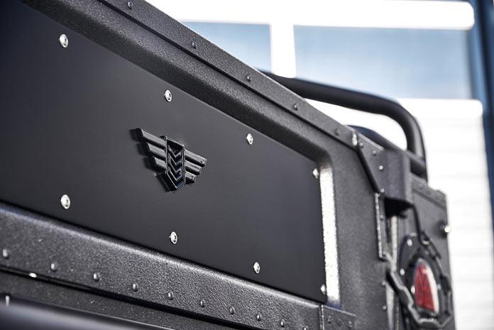 Детали экстерьера Hummer H1 The Launch Edition